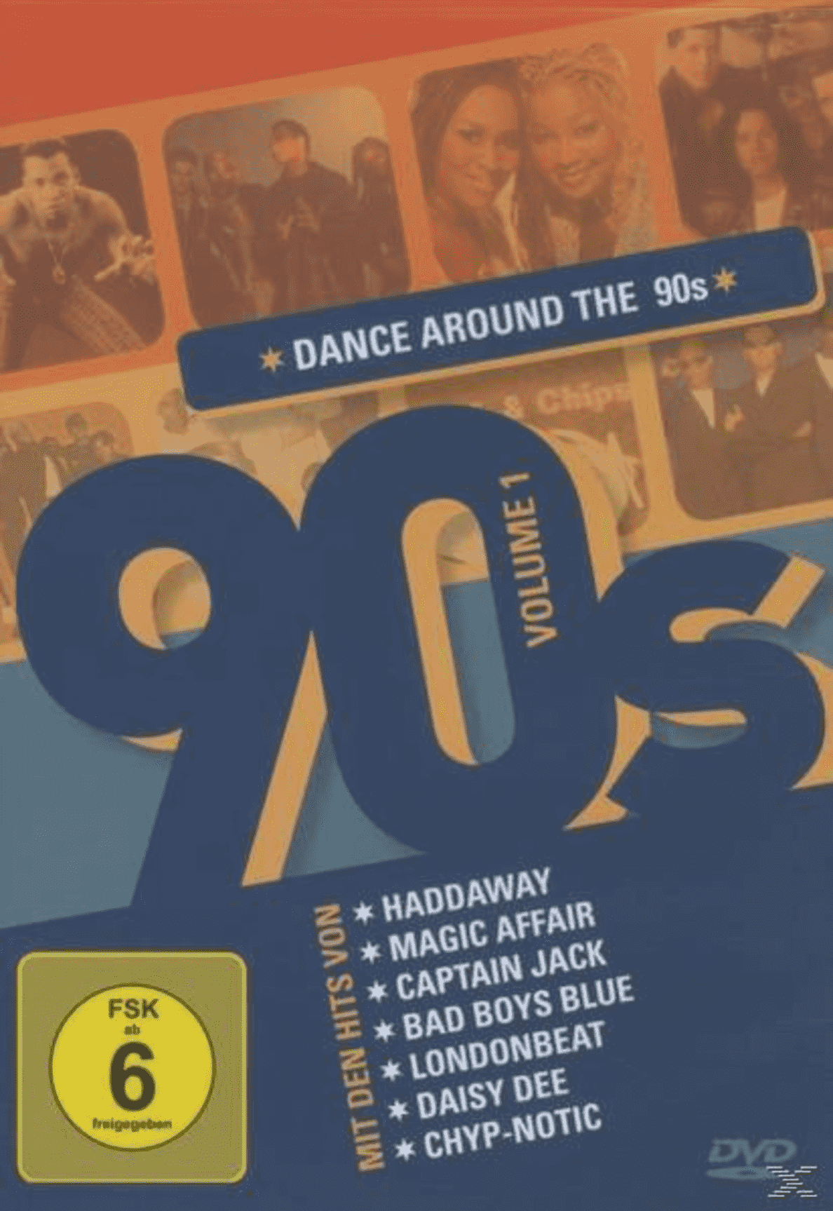 Dance Around The 90´s Vol.1 VARIOUS auf DVD