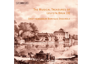 Drottningholm Baroque Ensemble - The Musical Treasures Of Leufsta Bruk (Ii) - (CD)