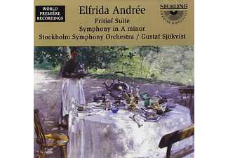 The Stockholm Symphony Orchestra - Andree/Fritiof-Suite/Sinf.2 - (CD)