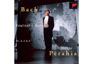 Perahia Murray - English Suites 2, 4 & 5 - (CD)