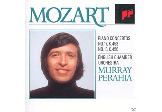 English Chamber Orchestra, Perahia Murray - Piano Concertos Nos. 17 & 18 [CD]