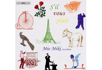 Mie Miki - S'll Vous Plait-virtuose Akkordeon-miniaturen - (CD)