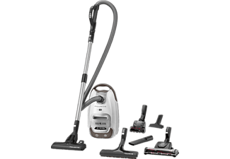 ROWENTA RO6477EA Silence Force Animal Care Pro Staubsauger mit Beutel, EEK: A, Weiß