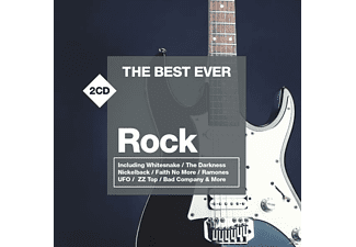 VARIOUS - The Best Ever:Rock [CD]