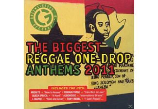 VARIOUS - Biggest Reggae One Drop Anthems 2011 - (CD)