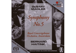 Royal Concertgebouw Orchestra - SYMPHONY NO. 5 - (CD)