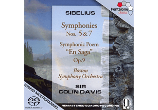 Sir Colin Davis - SYMPHONIES NOS.5 & 7 - (CD)