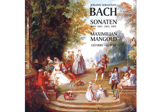 Mangold Maximilian - Sonaten Bwv 1001,1003,1005 In Transkription - (CD)