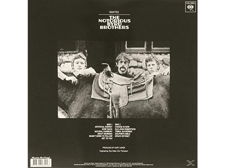 The Byrds - Notorious Byrd Brothers [Vinyl]