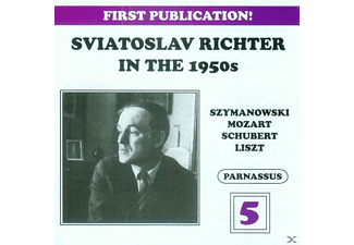 Sviatoslav Richter - Richter in the 1950s-Vol.5 - (CD)