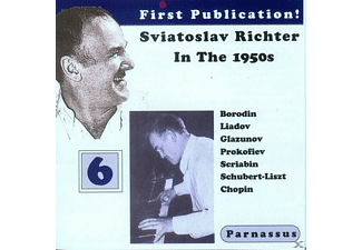 Sviatoslav Richter - Richter in the 1950s-Vol.6 - (CD)