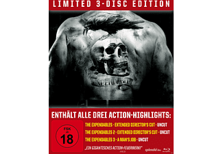 The Expendables Trilogy (Limited Steelbook Edition) [Blu-ray]
