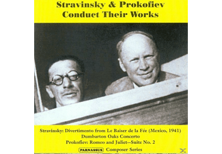 VARIOUS - Stravinsky & Prokofiev Conduct Their Works - (CD)