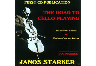 Janos Starker - The Road To Cello Playing - (CD)