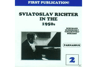 Sviatoslav Richter, Richter Svjatoslav - Richter in the 1950s-Vol.2 - (CD)