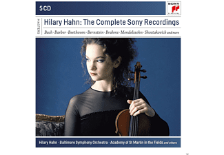 Hilary Hahn, VARIOUS - Hilary Hahn-The Complete Sony Recordings [CD]