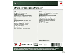 VARIOUS - Stravinsky Conducts Stravinsky-Symphonies+Concerto [CD]