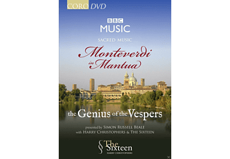 The Sixteen - Monteverdi In Mantua-The Genius Of  The Vespers - (DVD)