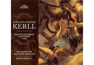 Martin Zoebeley ( Gruppe Fuer Alte Musik Muenchen - Kerll: Delectus Sacrarum Cantionum - (CD)