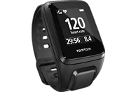 TOMTOM Spark Cardio inkl. Music Small, GPS Fitness Uhr , S (121-175 mm), Schwarz