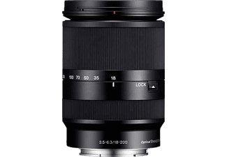 SONY Standaardlens E 18–200 mm F3.5–6.3 OSS (SEL18200LE)