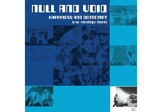 Null And Void - Hapiness And Contempt B/W Montage M - (Vinyl)
