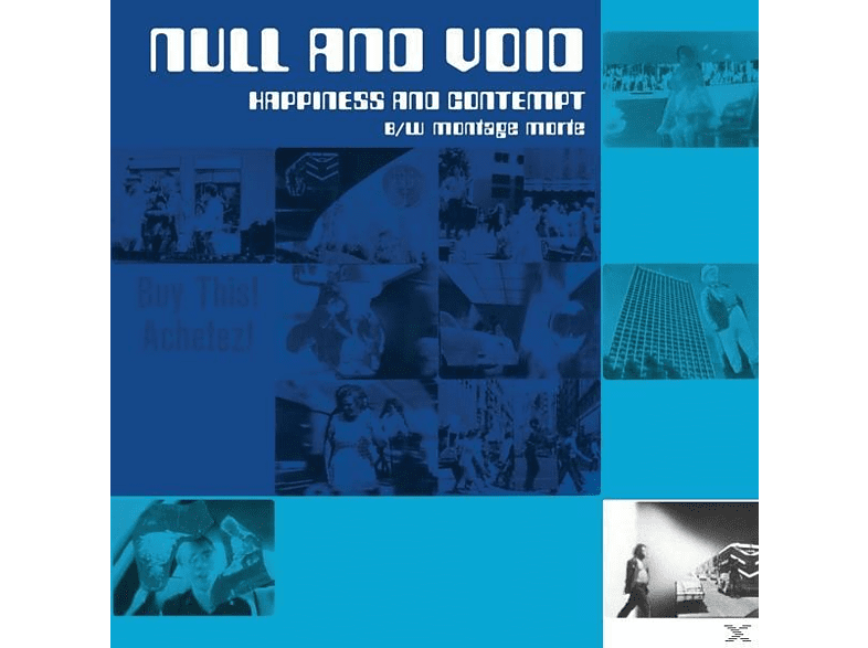 Null And Void - Hapiness And Contempt B/W Montage M [Vinyl]