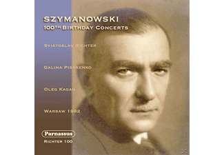 Richter Svjatoslav - Szymanowski 100th Birthday - (CD)
