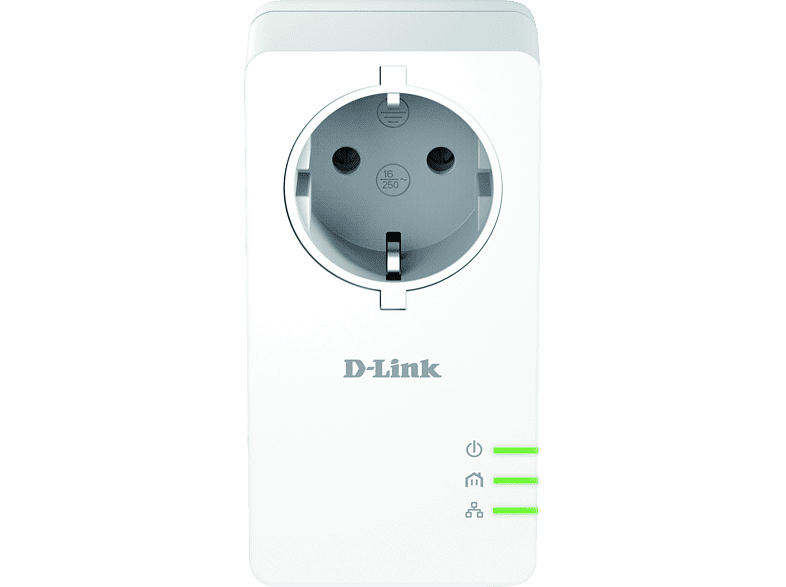 D-LINK PowerLine AV2 1000 HD Gigabit Passthrough Kit - (DHP-P601AV)