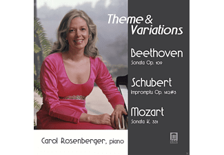 Carol Rosenberger - Theme & Variations [CD]