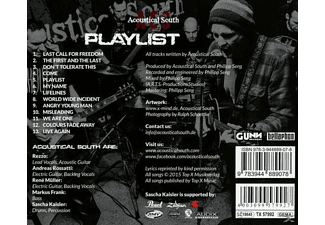 Acoustical South - Playlist - (CD)