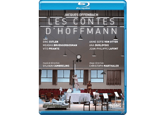 E.Cutler, A.S. von Otter, V.Priante, C.Homberger, - Les Contes D'hoffmann - (Blu-ray)