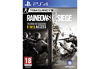 TOM CLANCY S RAINBOW SIX  SIEGE PlayStation 4