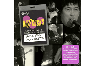 Buzzcocks - Access All Areas-Live At London Town City Club - (CD + DVD Video)
