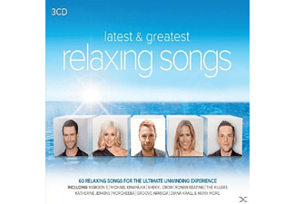 VARIOUS - Relaxing Songs-Latest & Greatest - (CD)