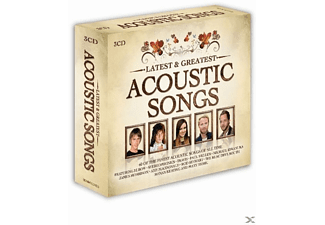 VARIOUS - Acoustic Songs-Latest & Greatest [CD]