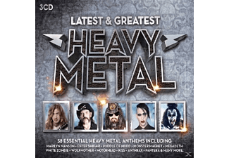 VARIOUS - Heavy Metal - Latest & Greatest - (CD)