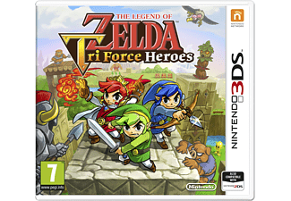 The Legend of Zelda: Triforce Heroes Nintendo 3DS