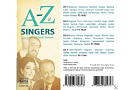 VARIOUS - A-Z Of Singers - (CD + Buch)