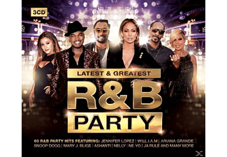 VARIOUS - R&B Party-Latest & Greatest - (CD)