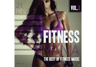 VARIOUS - Fitness Mania Vol.3 - (CD)