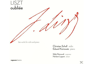 Eduard Kutrowatz, Christian Scholl, Raimondi - Oubliee, Late Worls For Violine & Piano [CD]