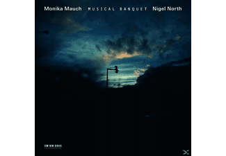 Nigel North, Mauch,Monika/North,Nigel - A Musical Banquet - (CD)