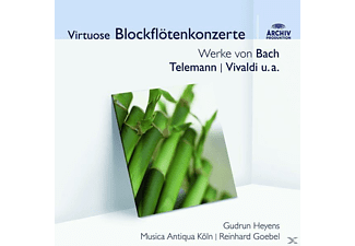 Mak, Heyens/Goebel/MAK - Virtuose Blockflötenkonzerte (Audior) - (CD)