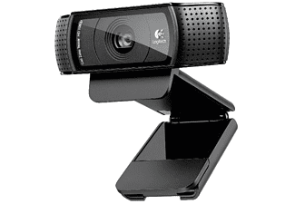 Webcam Full HD - Logitech C920, 1080p, negro