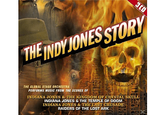 The Global Stage Orchestra - The Indy Jones Story: Original Soundtrack - (CD)