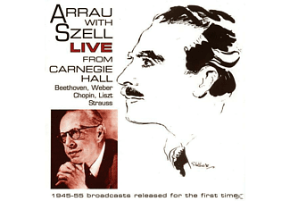 Claudio Arrau, New York Philharmonic Symphony Orchestra - Claudio Arrau Und George Szell Live - (CD)