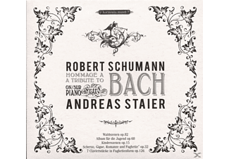 Andreas Staier - Hommage A Bach - (CD)