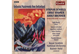 Pavri/Held/Royal Scottish National Orch./Lowdon/+ - Orchestrale Schweizer Meisterwerke - (CD)