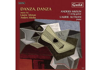 Miolin,Anders/Altman,Laurie - Danza,Danza - (CD)